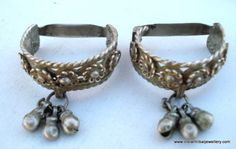 Antique toe rings