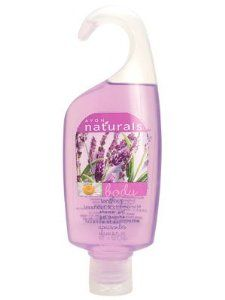 Avon Naturals Body Soothing - Lavender & Chamomile Shower Gel by Avon. $8.95. SOOTHING LAVENDER & CHAMOMILE SHOWER GEL. 5 FL OZ/150 ML. AVON NATURALS BODY - SOOTHING LAVENDER & CHAMOMILE SHOWER GEL FORMULATED WITH BIO SEED COMPLEX AND PURE LAVENDER AND CHAMOMILE EXTRACTS.