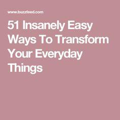51 Insanely Easy Ways To Transform Your Everyday Things Elkészíthető  Lakberendezési Tárgyak 8d2c23cd0d