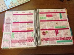 "I just want to share these lovely layouts from Brittany in the My Erin Condren Simple (MyECS) group on Facebook. There are so many ways to ""do"" an Erin Condren planner, but this has to be one of my..."