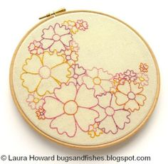 Flowers - Free Embroidery Pattern