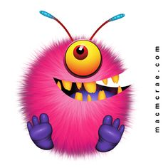 ●•‿✿⁀Monster Mash‿✿⁀•● Funny Monsters, Cartoon Monsters, Little Monsters, Smileys, Emoticons, Monster Treats, Monster Art, Monster Clipart, Monster Coloring Pages