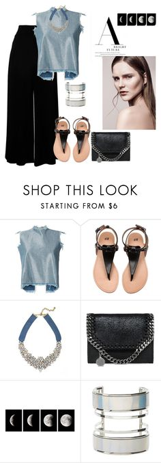 """""""Untitled #284"""" by babis117 ❤ liked on Polyvore featuring Marques'Almeida, BaubleBar, STELLA McCARTNEY, WALL and Charlotte Russe"""