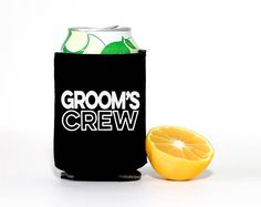 Grooms Crew Can Coolers | Bachelor Party Can Coolers | Groom Can Cooler |  (scheduled via http://www.tailwindapp.com?utm_source=pinterest&utm_medium=twpin&utm_content=post180992009&utm_campaign=scheduler_attribution)