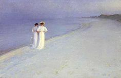 Painted by P.S.Krøyer - one of the Skagen Painters