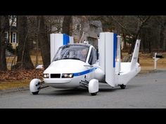 ► Flying Car - Terrafugia Transition street-legal aircraft - YouTube *not only will you need a driver's license, but a pilot's license too!