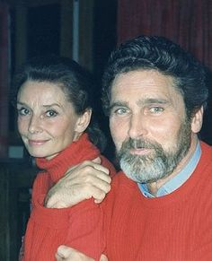 Audrey with Robert Wolders ('Bobby'), the final love of her life.