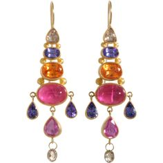 Gemstone Earrings Mallary Marks