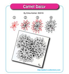 Carpet Daisy by Erika Kehlet