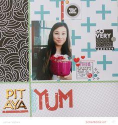 Pitaya YUM  by jamiewaters at @studio_calico