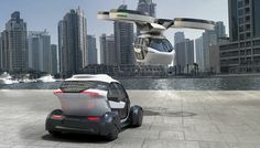 Airbus and Italdesign unveil modular urban land and air transport system
