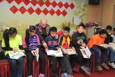 District 300G2 #LionsClubs (Taiwan) donated stationary, books and calligraphy supplies to students