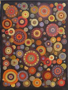 wool applique quilt