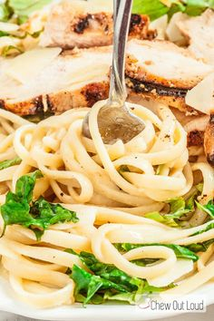 30-Minute Lemon Basil Chicken Linguine Recipe on Yummly