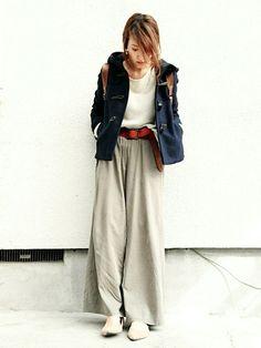 GUのダッフルコートを使ったmikiのコーディネートです。WEARはモデル・俳優・ショップスタッフなどの着こなしをチェックできるファッションコーディネートサイトです。