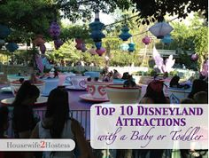 Housewife 2 Hostess : Top 10 Disneyland Rides for Babies & Toddlers