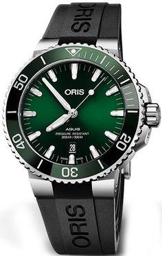 d96b882b043 Oris Watch Aquis Date Rubber 01 733 7730 4157-07 4 24 64EB Watch