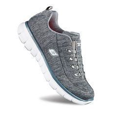 Skechers Synergy Positive Outcome Women's Athletic Shoes, Size: 6.5, Med Grey