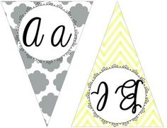 Super cute yellow, gray, and teal chevron and quatrefoil CURSIVE pennant banner.  This is part of my HUGE yellow, gray, and teal chevron and quatrefoil classroom decor set.  Check it out at:http://www.teacherspayteachers.com/Product/HUGE-Yellow-Gray-and-Teal-Chevron-and-Quatrefoil-Classroom-Decor-Set-1316375