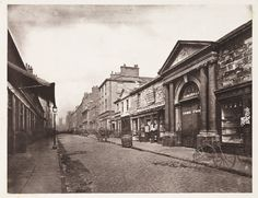 size: Photographic Print: King Street in Glasgow, Scotland by Thomas Annan : Artists Glasgow Scotland, Edinburgh, Scottish People, The Second City, Science Museum, City Scene, Slums, Most Beautiful Cities, Black And White Pictures