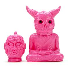 """""""Hot Pink"""" sofubi ALAVAKA pre-order from Devils Head Productions announced!!!"""