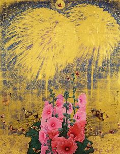 "Kyosuke Tchinai ""Fireworks and Althaea Rosea"" 2012 Japan"