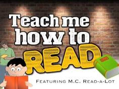 ▶ Teach Me How to Read (rap song for kids about reading/ABC's) - Harry Kindergarten - YouTube