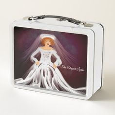 """The Elegant Ladies"" Mult-Use Box - metal style gift ideas unique diy personalize"