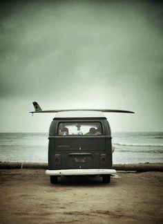 surfing campervan
