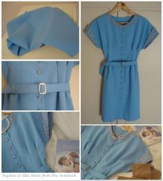 My replica of Allie Hamilton dress from movie The Notebook.