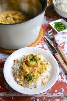 #recette #Poulet #Korma #cuisineindienne #MahoNabé