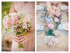 Bouquets pastel Pastel Wedding Theme, Wedding Colors, Wedding Flowers, Wedding Planner, Wedding Inspiration, Palette, Table Decorations, Spring, North Carolina