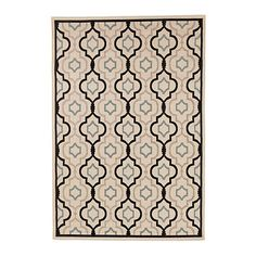 Saybrook Indoor/Outdoor Rug- Living room option. I like the graphic pattern but also the fact this had a light background. AND it is indoor/outdoor so durable for dogs (and Chet) ;)