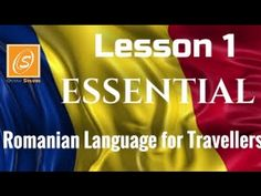 Romanian Language for Travellers - In a Simple Way - Lesson 1 - Essential