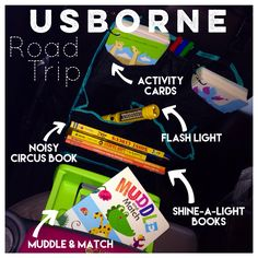 Usborne Road Trip! Usborne Books And More... Order at UsborneWithAHappyHeart.com