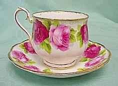 Old English Rose Teacup
