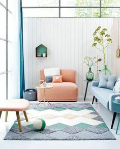 Art deco living room, Arch Zine. http://www.kenisahome.com