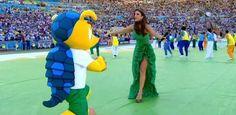 Seksinya Shakira di penutupan Piala Dunia 2014