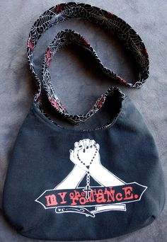 My Chemical Romance Tote Bag/Purse by evilrose