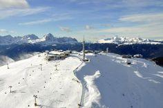 OK... I'm ready to go ski the Dolomites in Italy. This area is called Kronplatz!