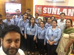 #Sunland #Education and #Immigration #Consultants Celebrate #Diwali with Staff Our CEO, Ms. Anisha Gupta Distributes gifts, Cash and a lot of Wishes.  Congrats Mr Gaurav is declare as the best employee of the month(2017).