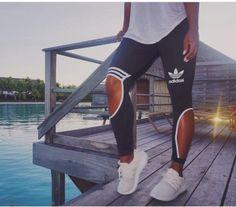 "2016 ""Adidas""New Female Sweatpants Leisure Leggings"