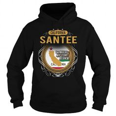 I Love SANTEE T shirts