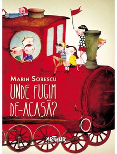 Unde fugim de-acasa? Book Reviews For Kids, Book Design Layout, Baby Shop, Childrens Books, Maya, Christmas Ornaments, Holiday Decor, Painting, Illustrations