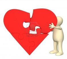 een gebroken hart word weer geheeld