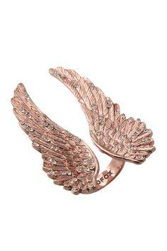 Rose Gold Wing Ring
