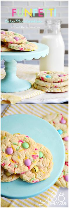 Recipes - Funfetti Cake Mix Cookie Recipe by the36thavenue.com