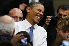 Nice to see the President still laughing after all he has been through.