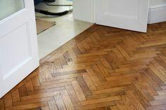 lovely - not oversanded or too glossy Oak Parquet Flooring, Wooden Flooring, Hardwood Floors, Floor Stain, Tile Floor, Floor Patterns, Textures Patterns, Parquet Texture, Floor Restoration
