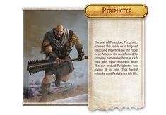 Monolith Board Games LLC is raising funds for Mythic Battles: Pantheon on Kickstarter! Olympians, Greek Mythology, Little Boys, Board Games, Battle, Hero, Folklore, Minis, Creepy